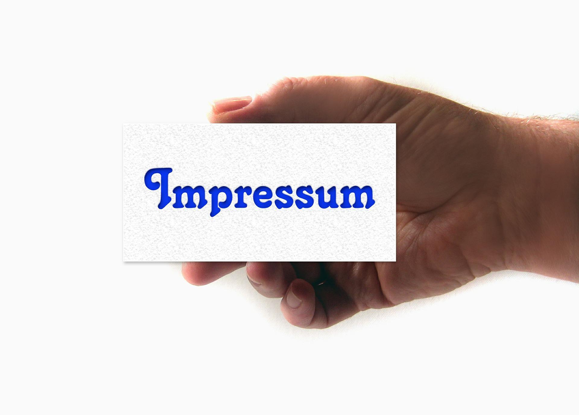 Impressum 1
